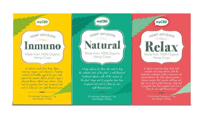 hemp teas | hemp infusion | myCBD