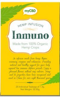 hemp tea inmuno | myCBD