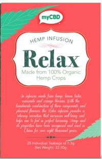 Hemp tea Relax