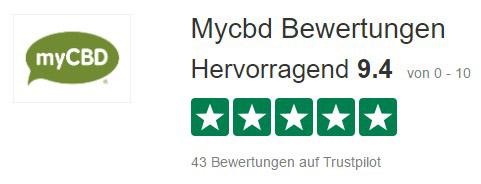 myCBD Bewertungen - trustpilot